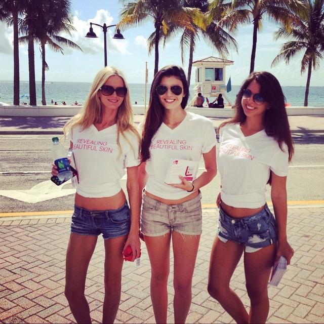 Hostesses in Las Vegas