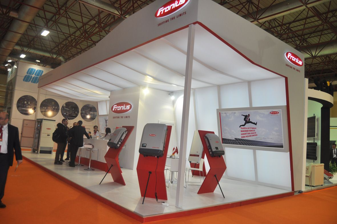 Solarex Istanbul Booth Trade Show
