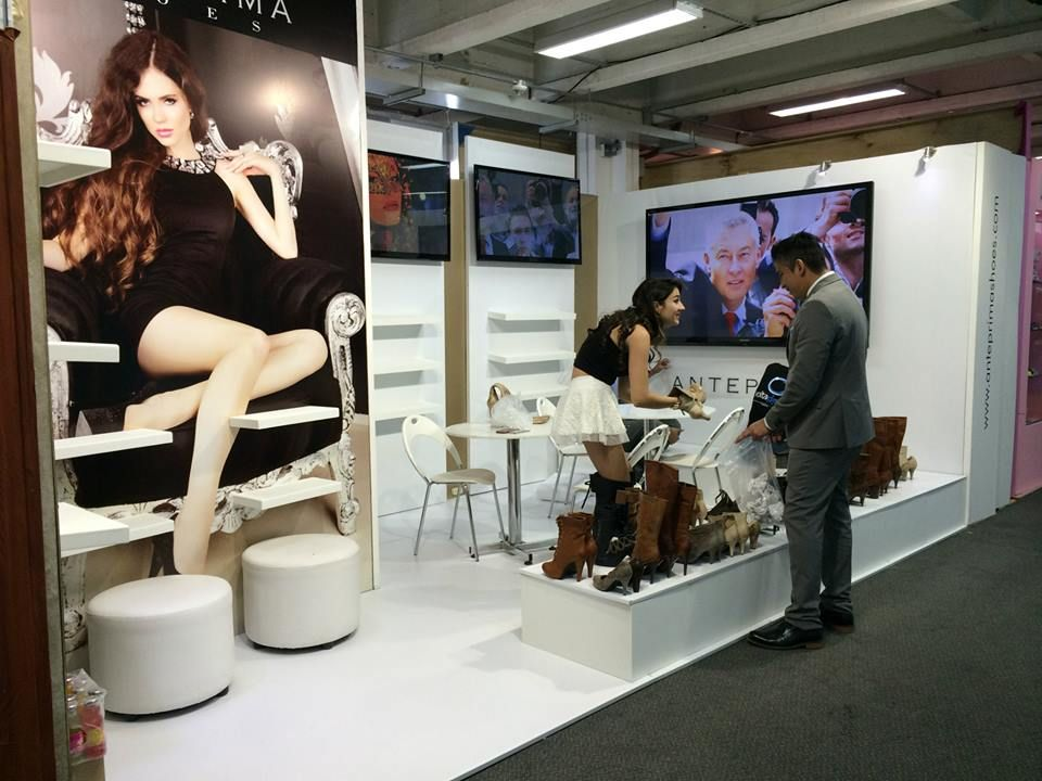 Construcción Stands Footwear & Leather Bogotá