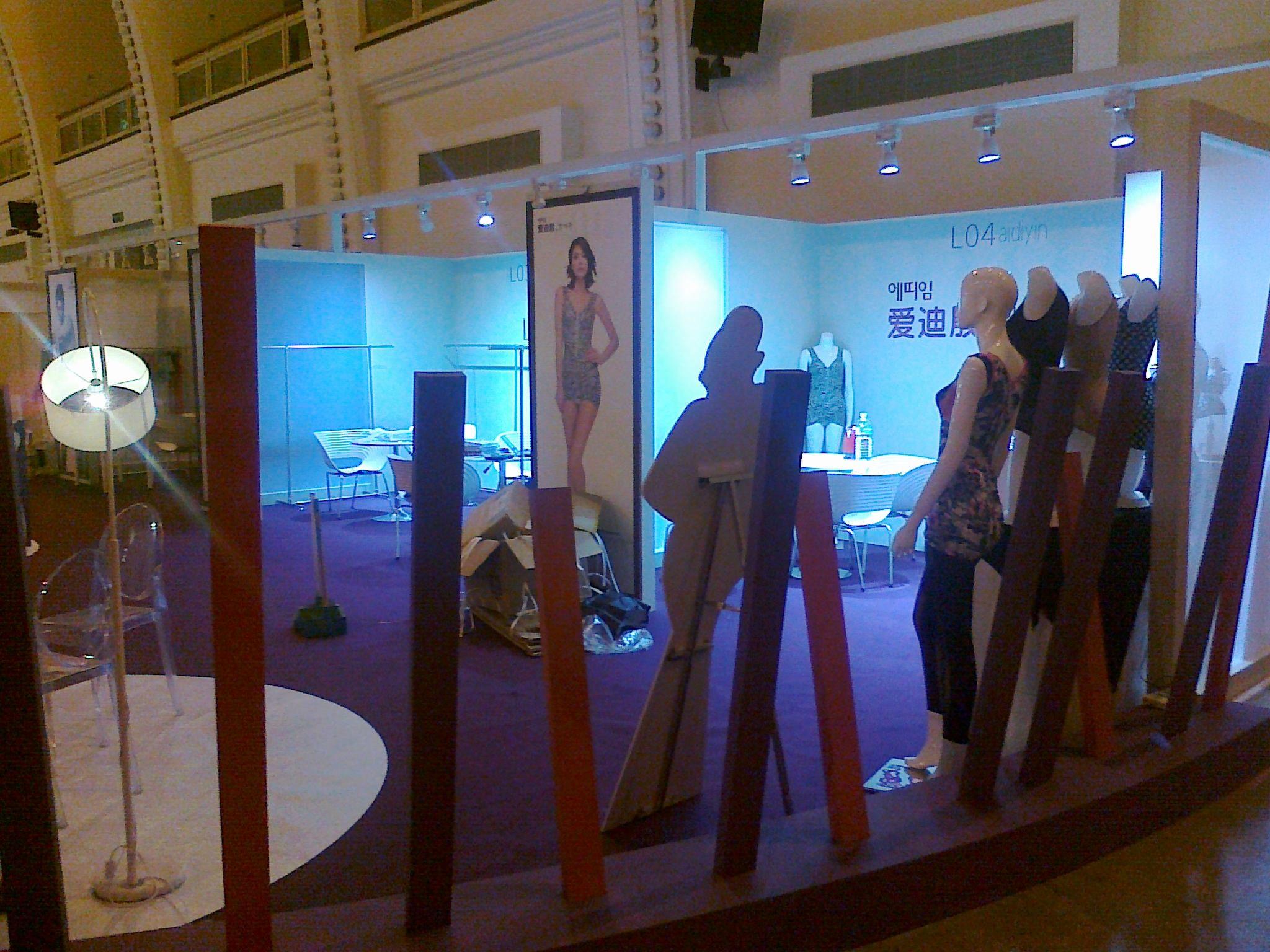 Shanghai Lingerie Booth Design