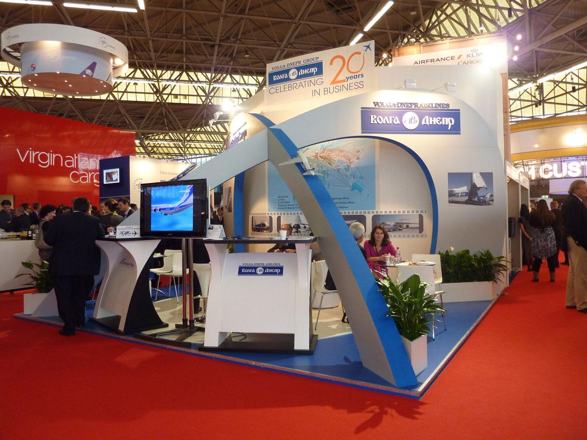 Air Cargo Exhibition Stand Design