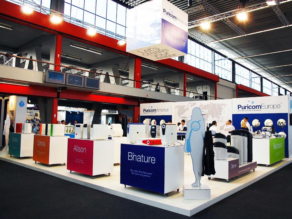 Aquatech Amsterdam Booth