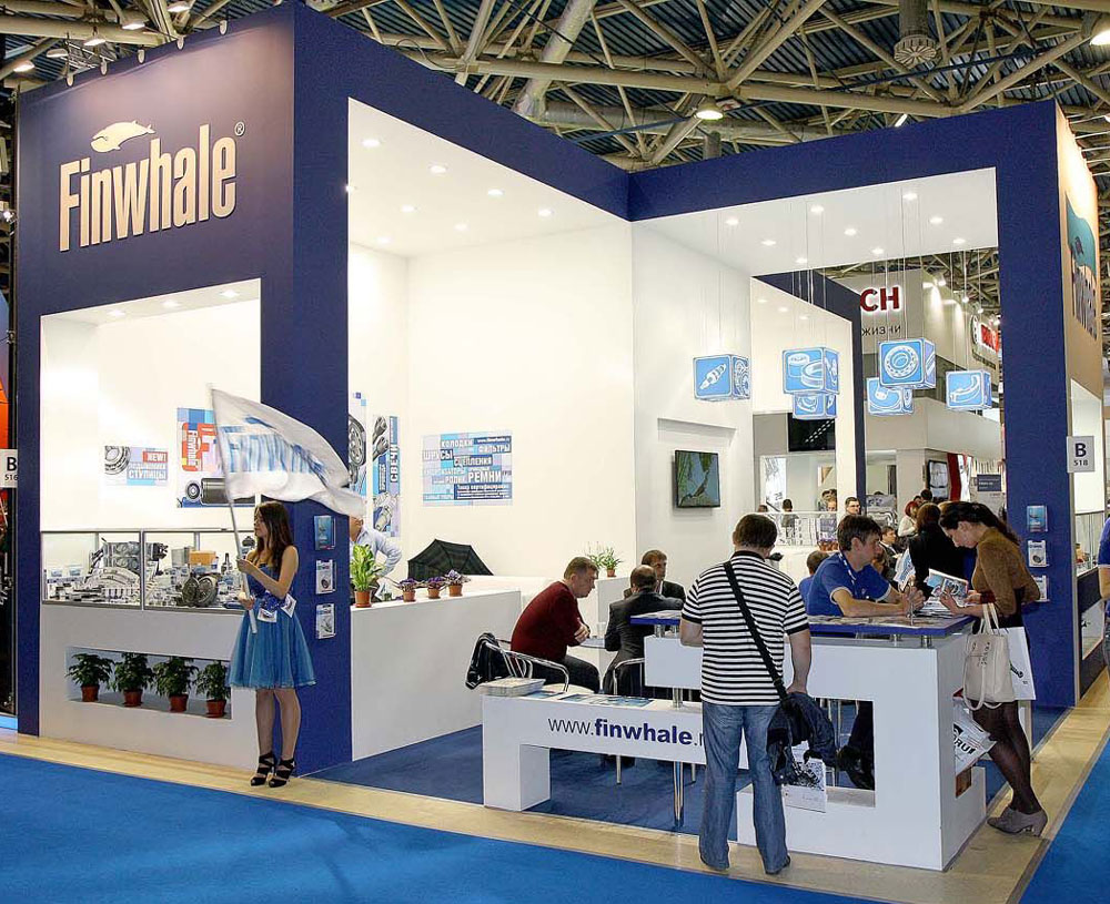Booth Built At Moscow Automechanika