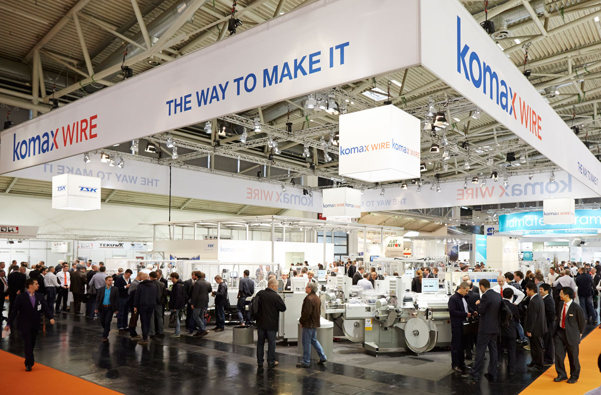 Munich Island Stand At Productronica