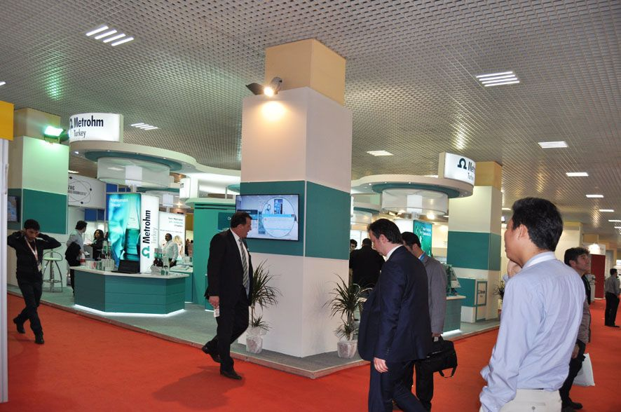 Exhibition Stand Chem Show Eurasia Istanbul