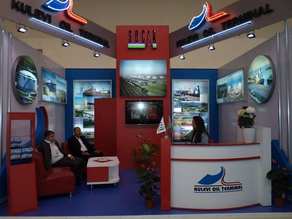 Caspian Oil & Gas Booth Designs 1