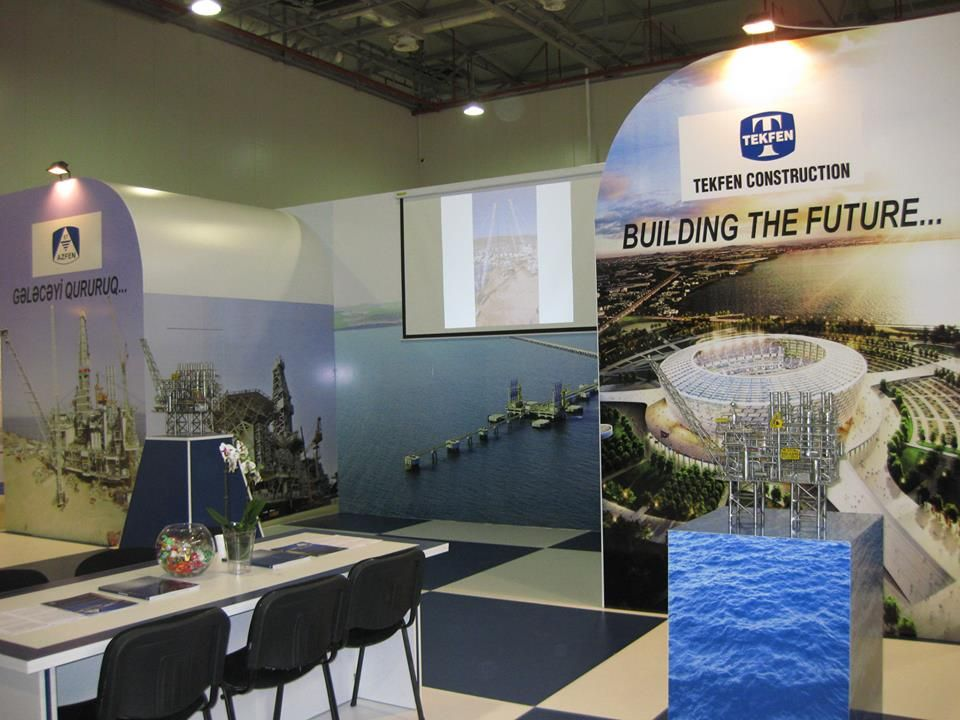 Caspian Oil & Gas Booth Designs