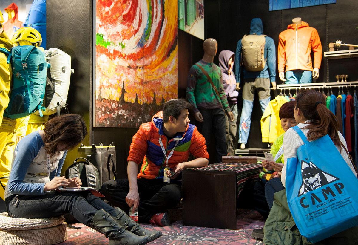 Beijing Ispo Exhibit