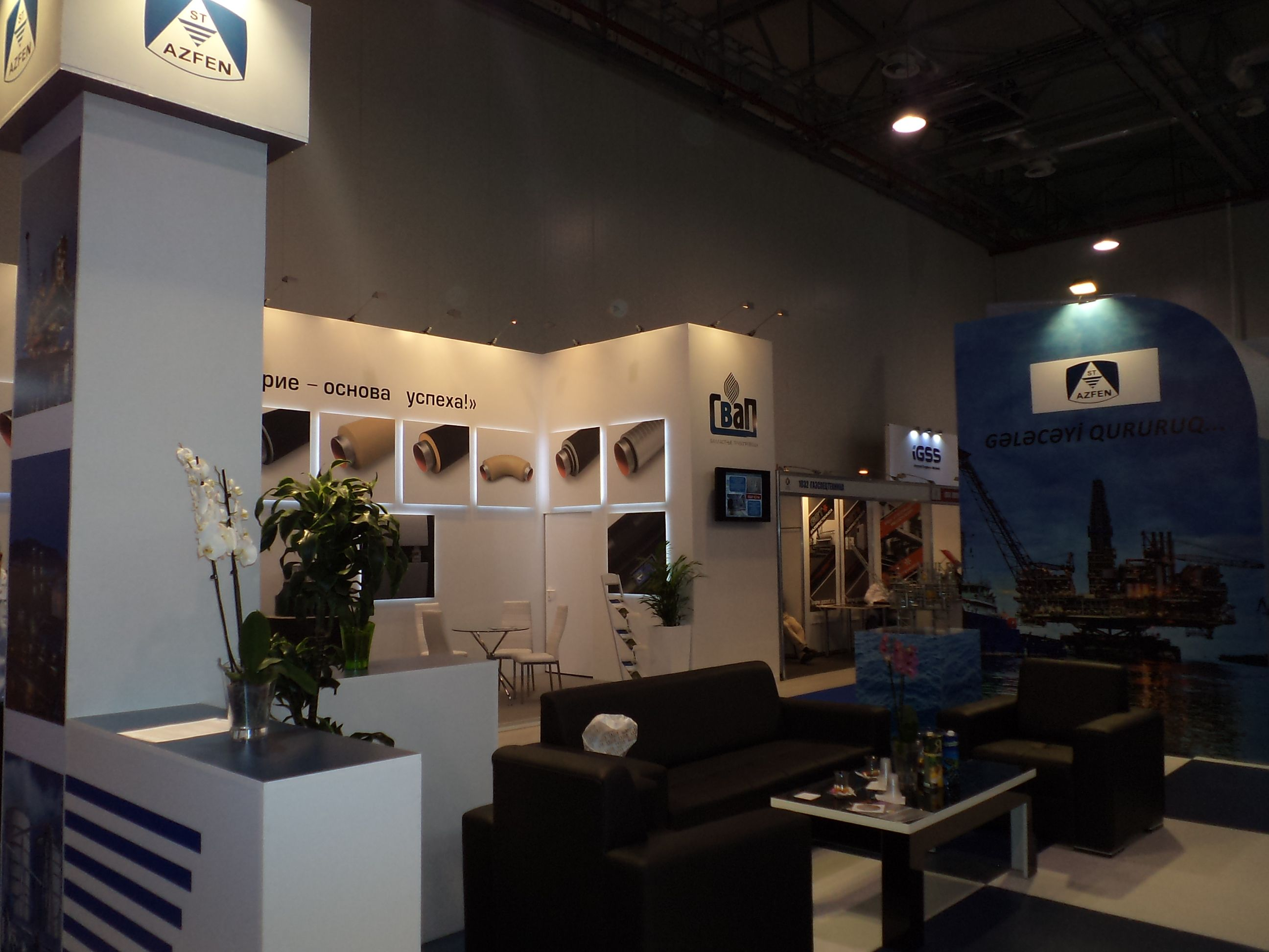 Caspian Oil & Gas Booth Designs 2