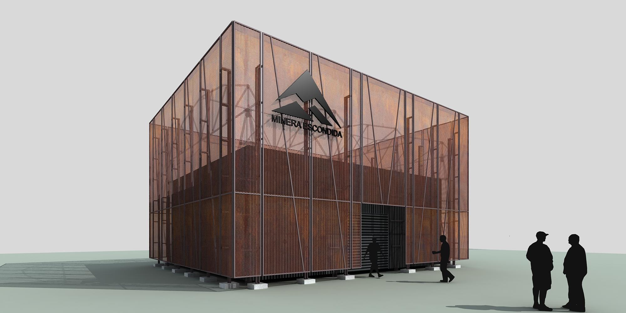 Cristobal Noguera Design For Minera Escondida At Exponor Chile