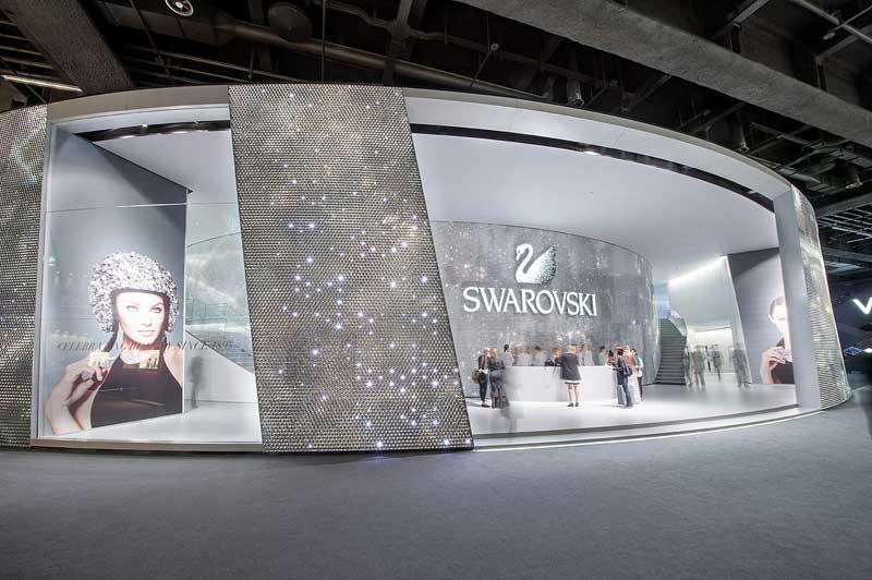 Baselworld Svarovski Stand