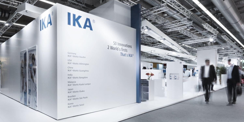 Ika Exhibition Booth Front Achema Frankfurt