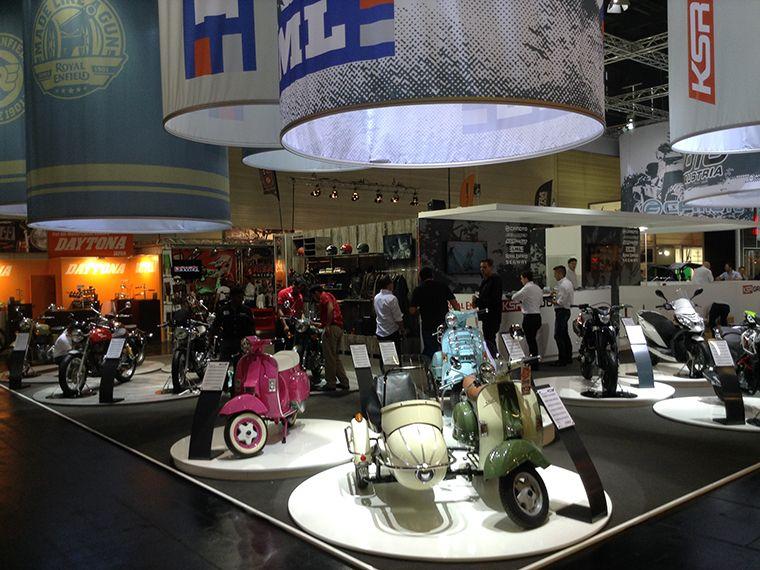 KSR Group Motorbike Stand 2014  4