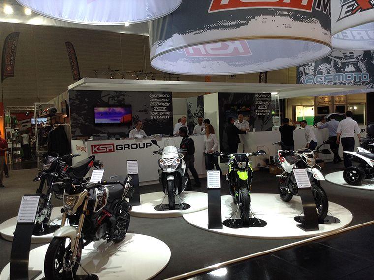 KSR Group Motorbike Stand 2014  6