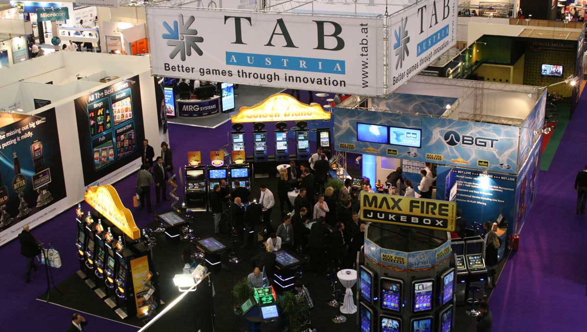 Tab Booth At London Ice
