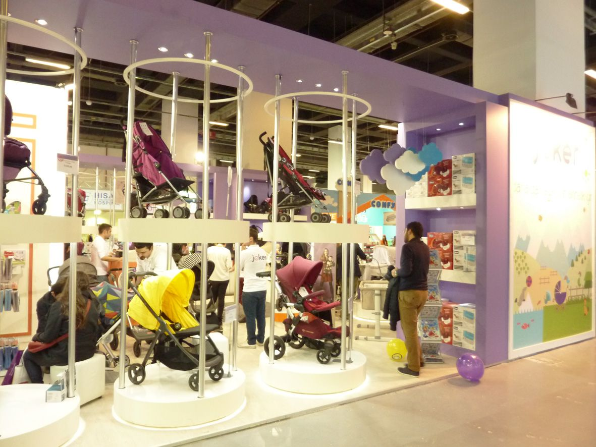 Custome Stand Design in İBS Anne Bebek Istanbul 1