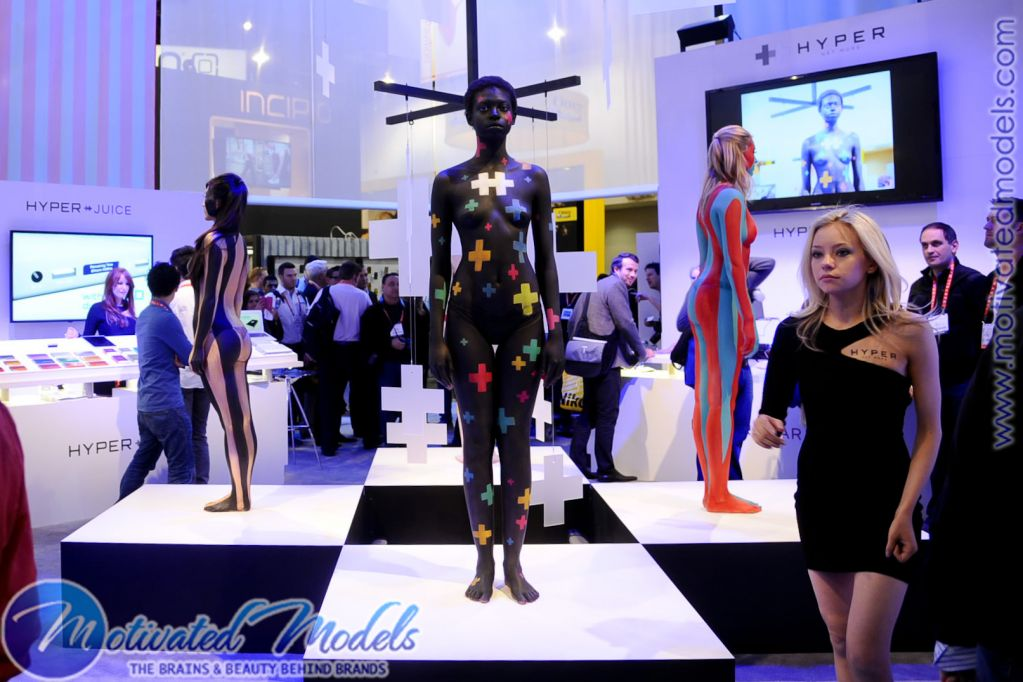 Motivated Models And Event Staff