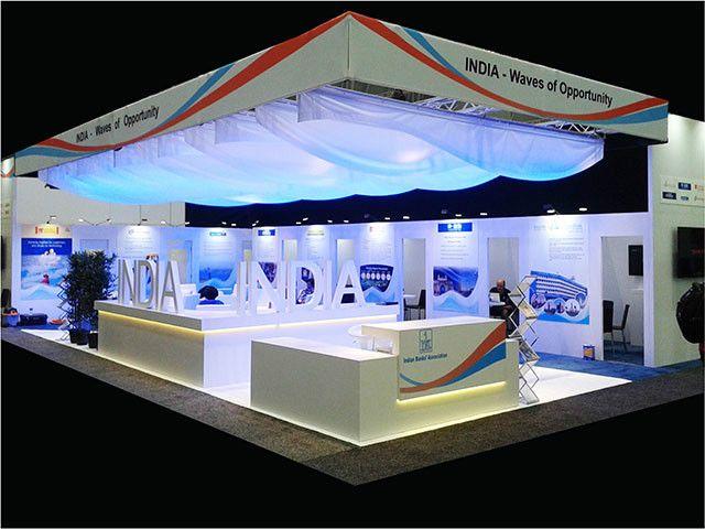 SIBOS Boston Exhibition Stand