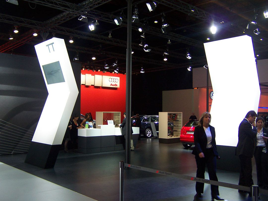 Audi Exhibition Stand at Autoshow Istanbul 3
