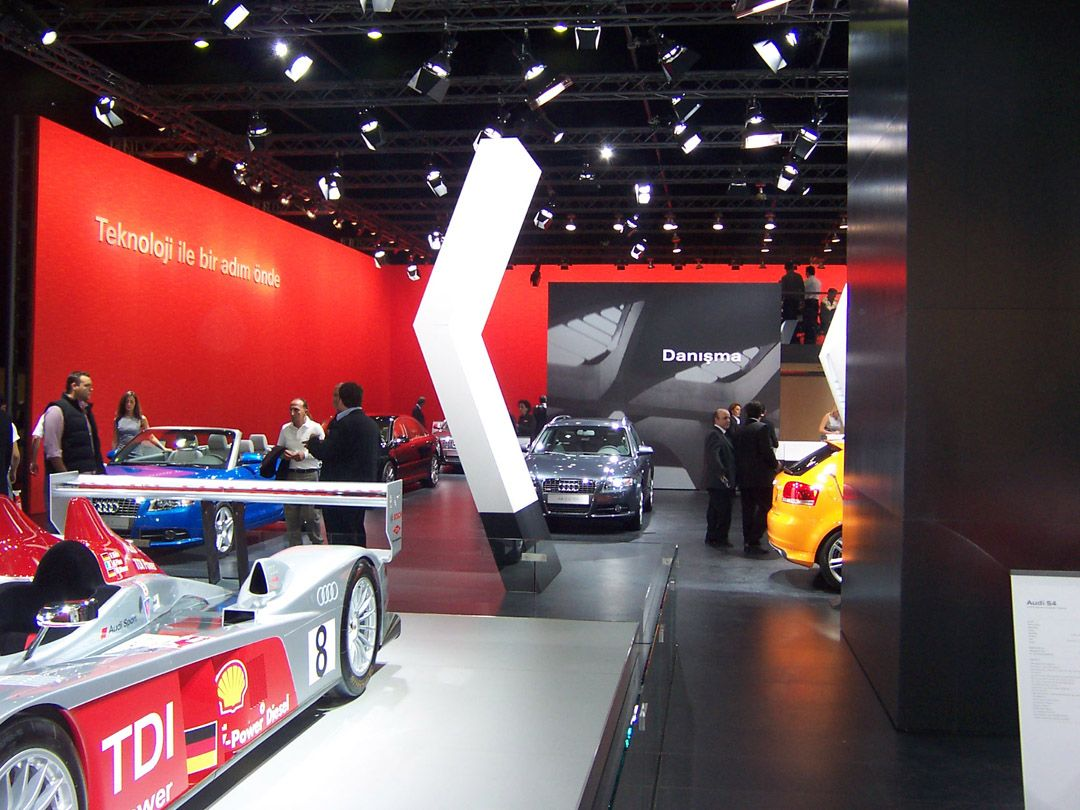 Audi Exhibition Stand at Autoshow Istanbul 5