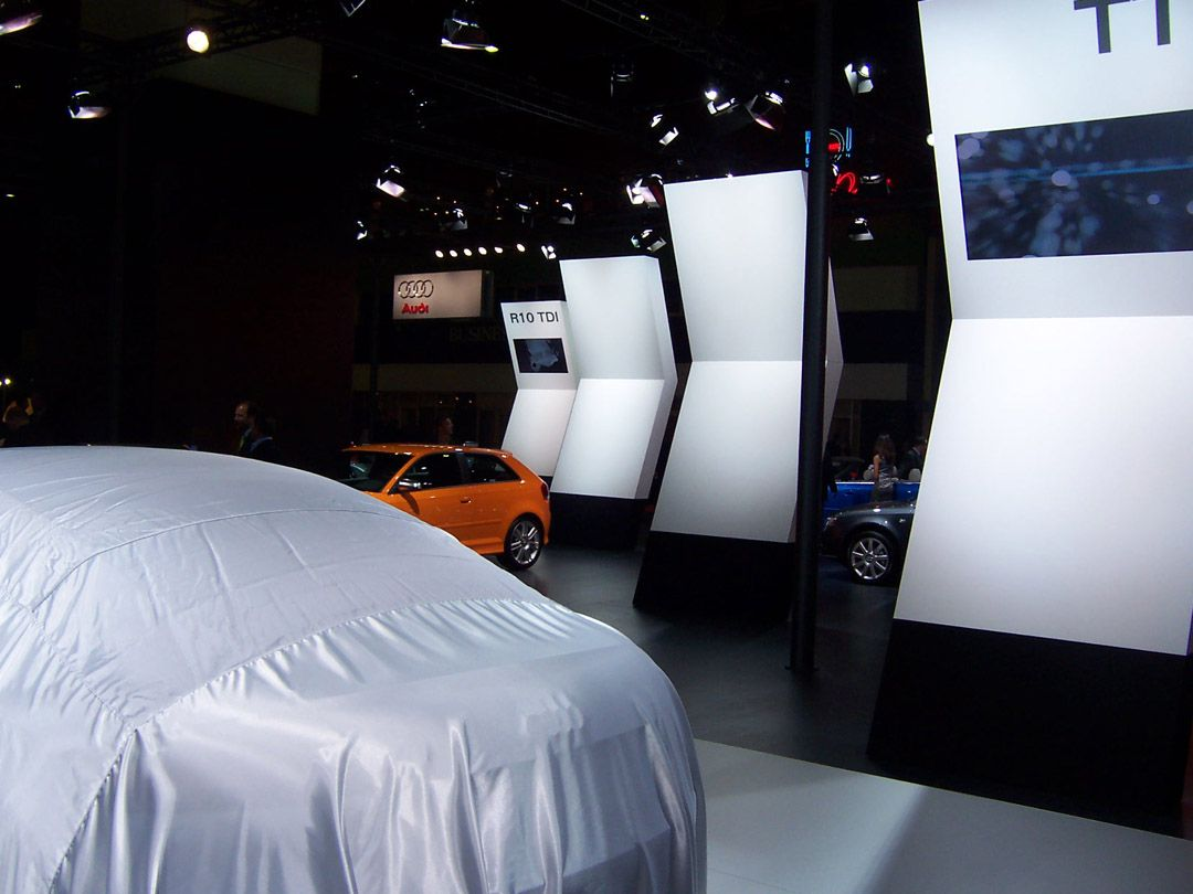 Audi Exhibition Stand at Autoshow Istanbul 6