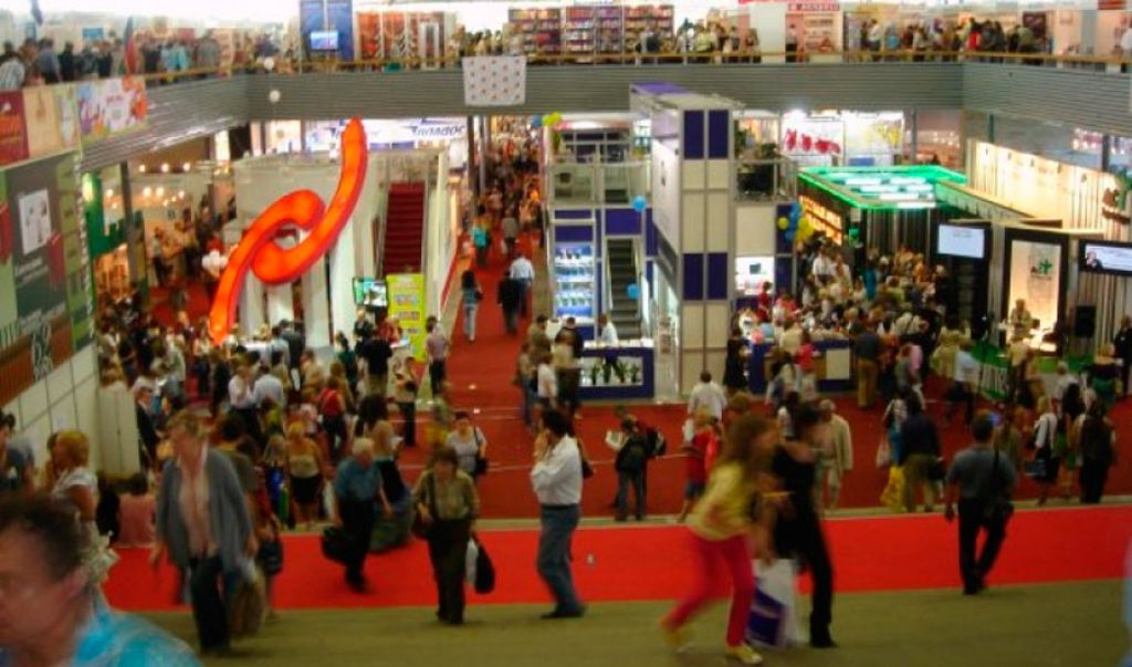 Mibf Moscow Booth