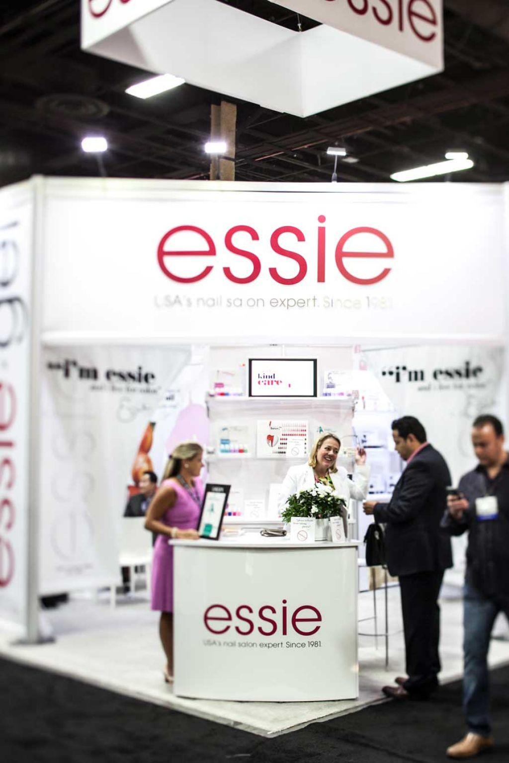 Essie Booth At Cosmoprof Las Vegas