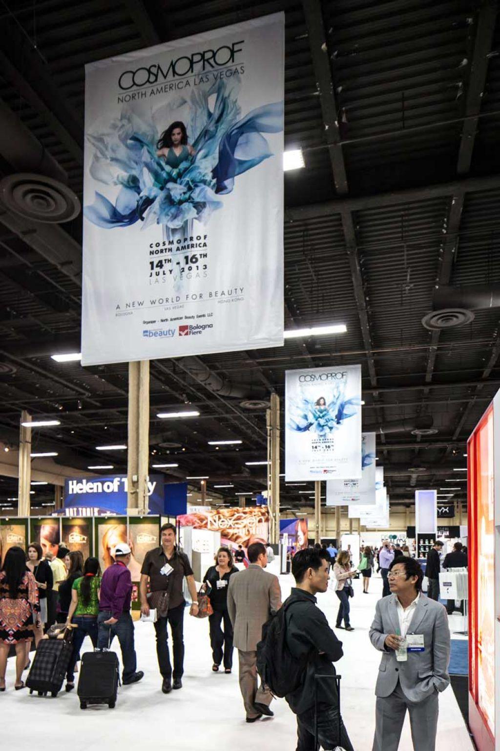 Las Vegas Exhibition Hall At Cosmoprof Northamerica