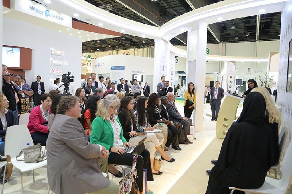 Exhibit At Wfes Abu Dhabi