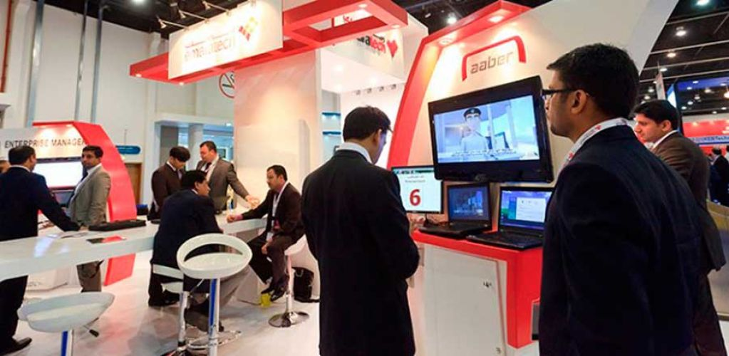 Cards Payments Middle East Expo Stand