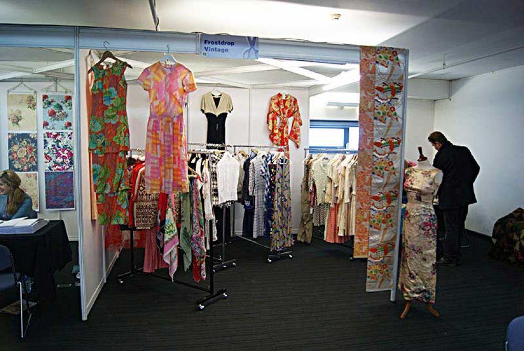 Exhibit At The London Textile Fair 2015