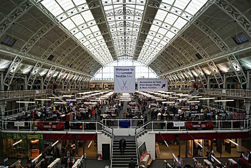 The London Textile Fair Exhbition Area
