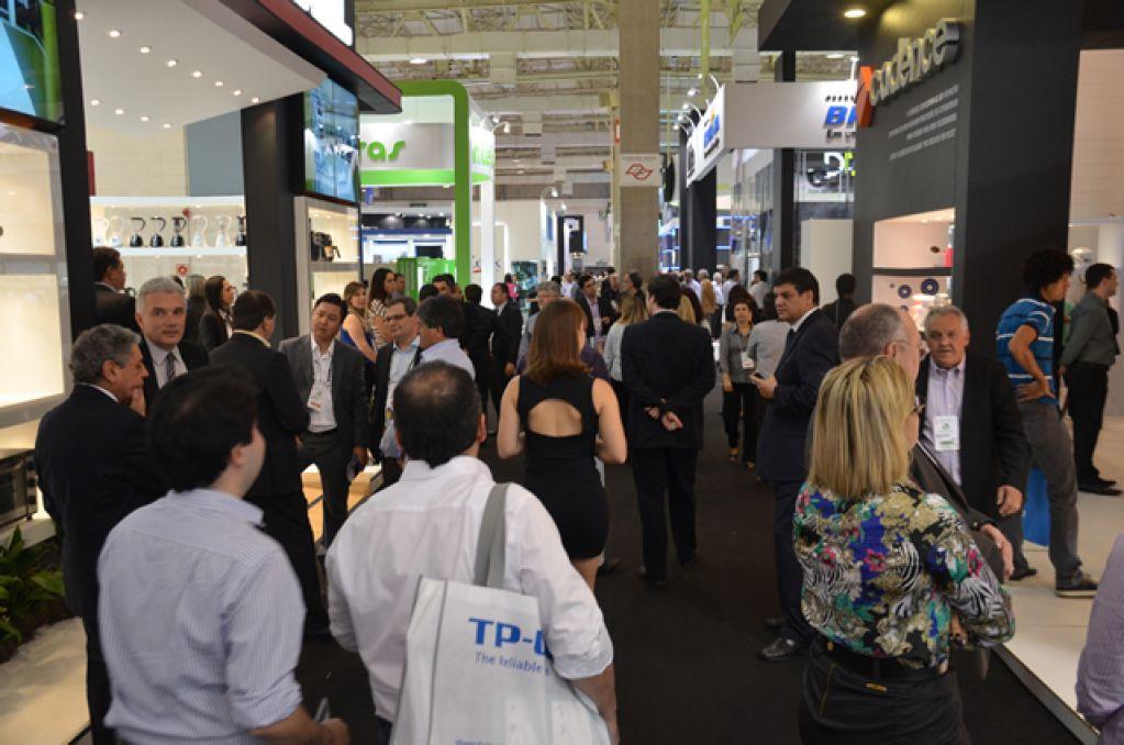 Eletrolar Show Exhibition Area Brasil