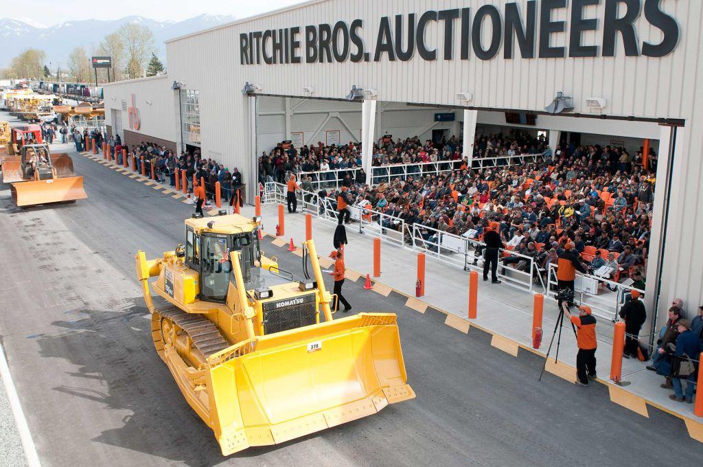 Ritchie Bros Auction Bauma