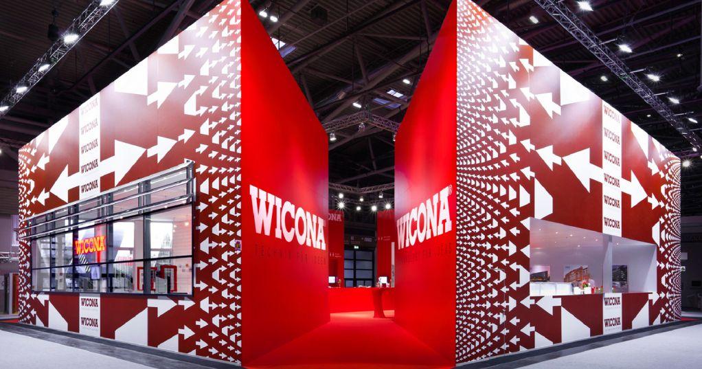 Bau Munich Exhibitio Stand Wicona