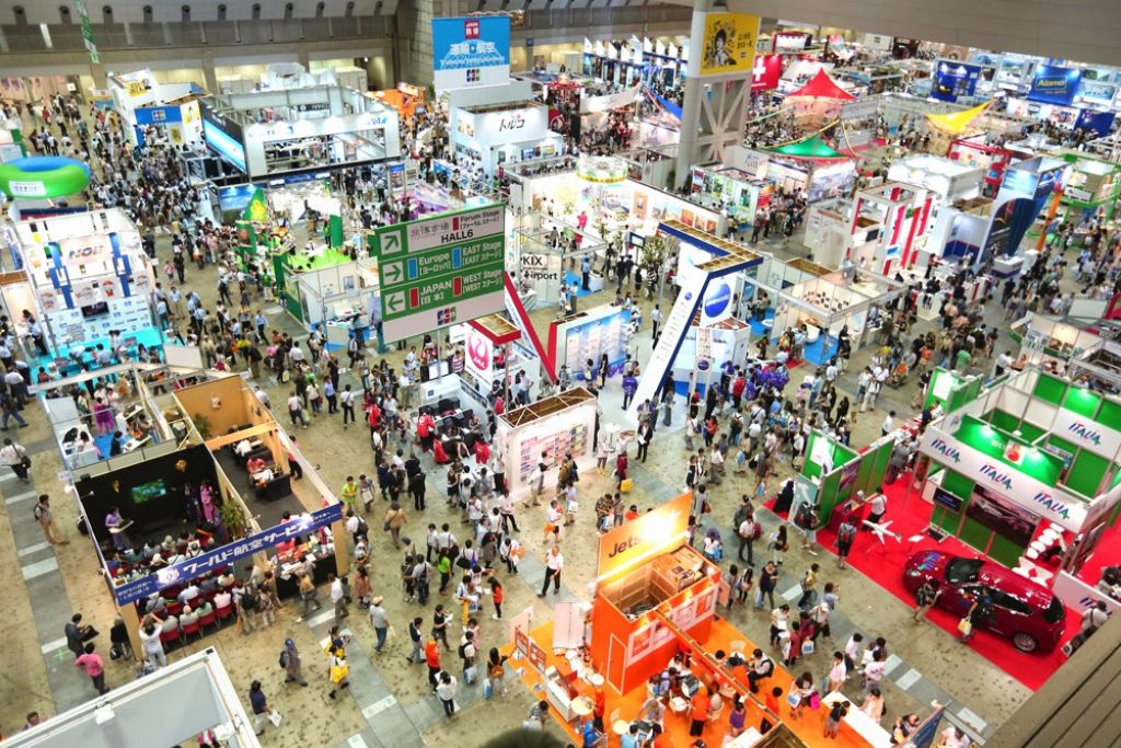 Jata Tourism Expo Japan One Of The Largest Travel Events