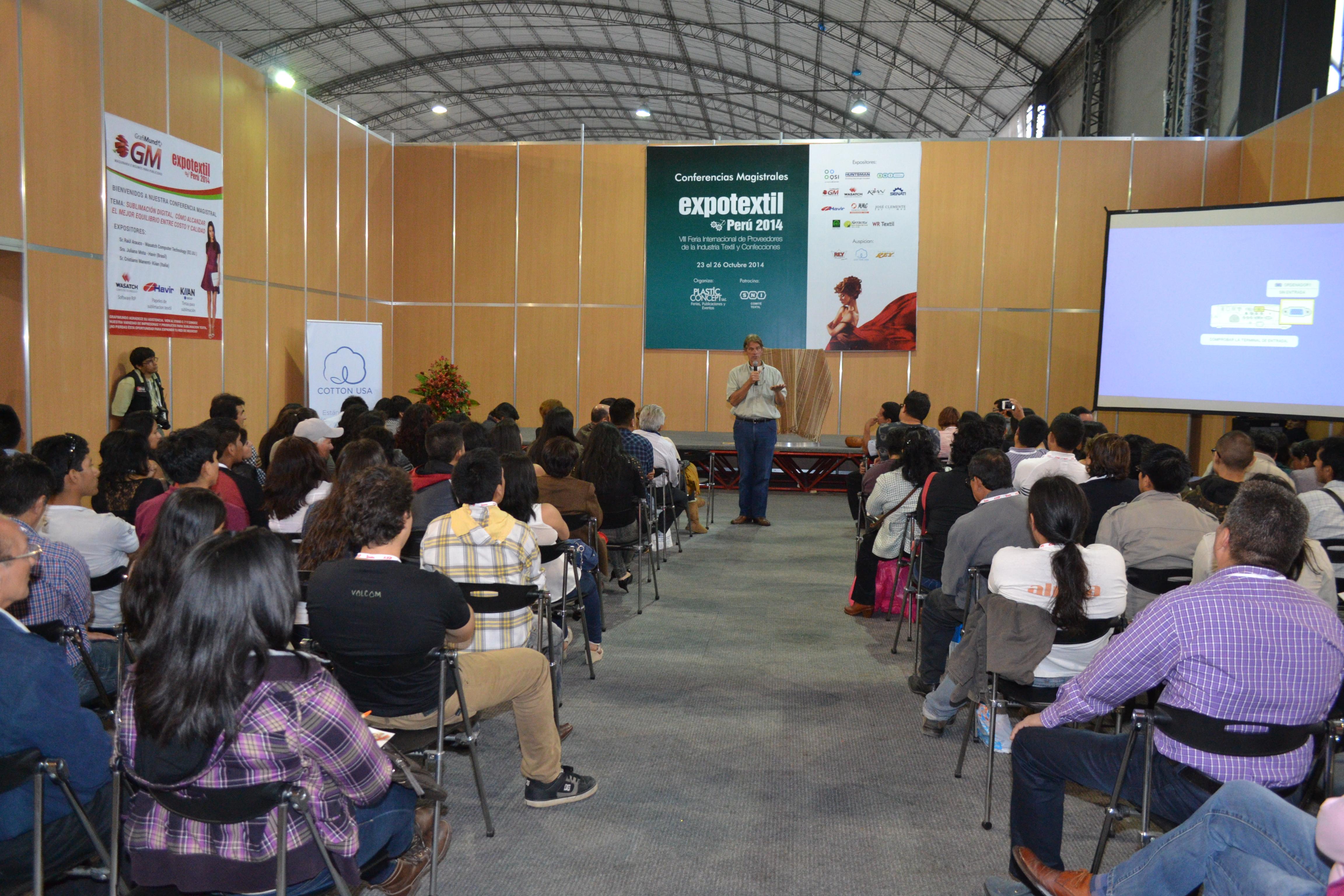 Exponer un Stand en Expotextil Perú