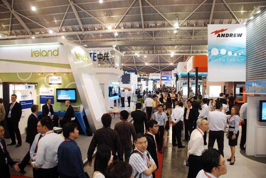 Communicasia Singapore Exhibition Business Events