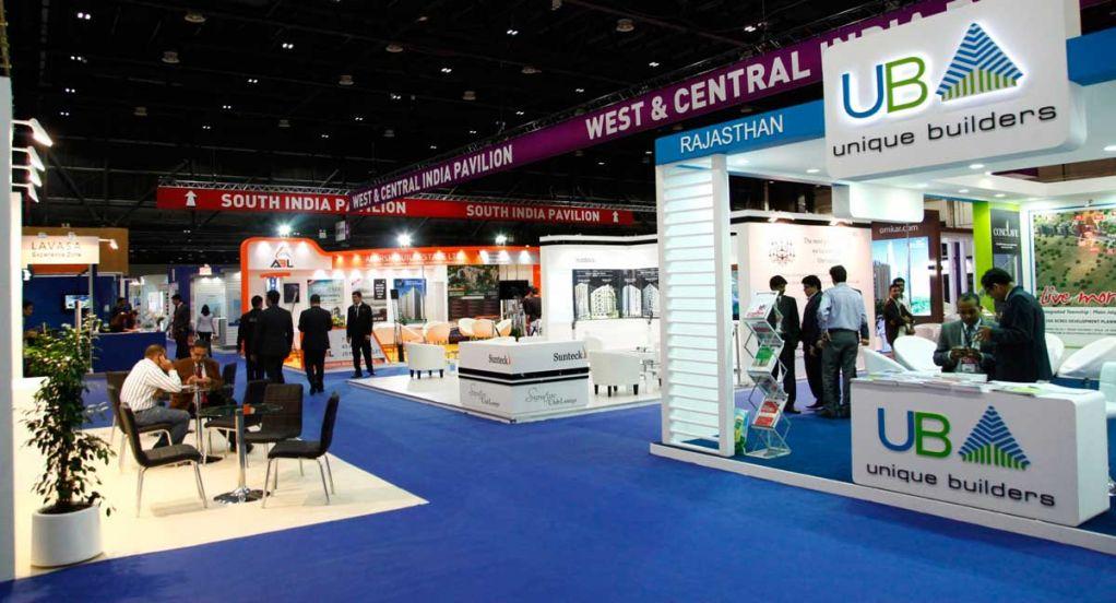 Dubai International Property Show Exhibition Area