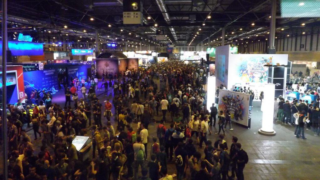 Area Expositiva De La Madrid Games Week