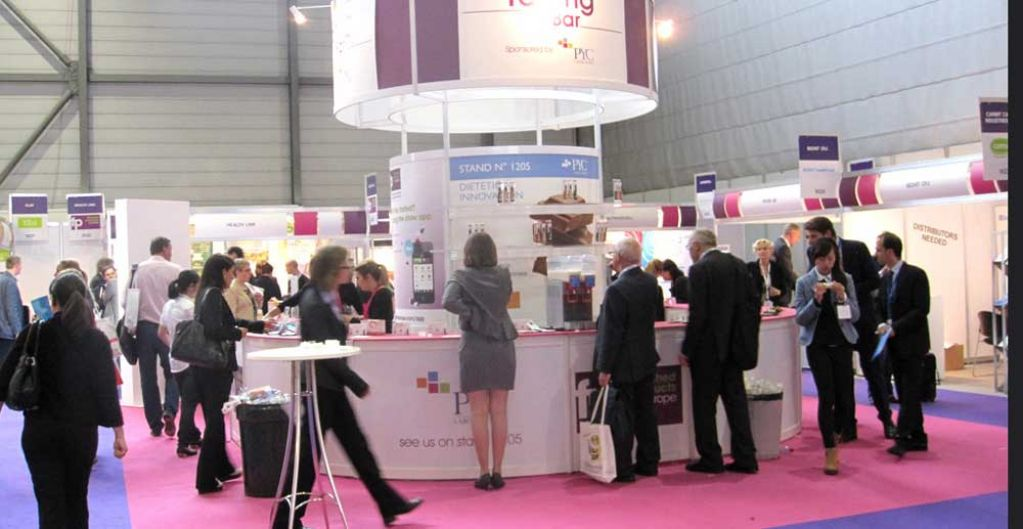 Vitafoods Europe Exhibition Stands