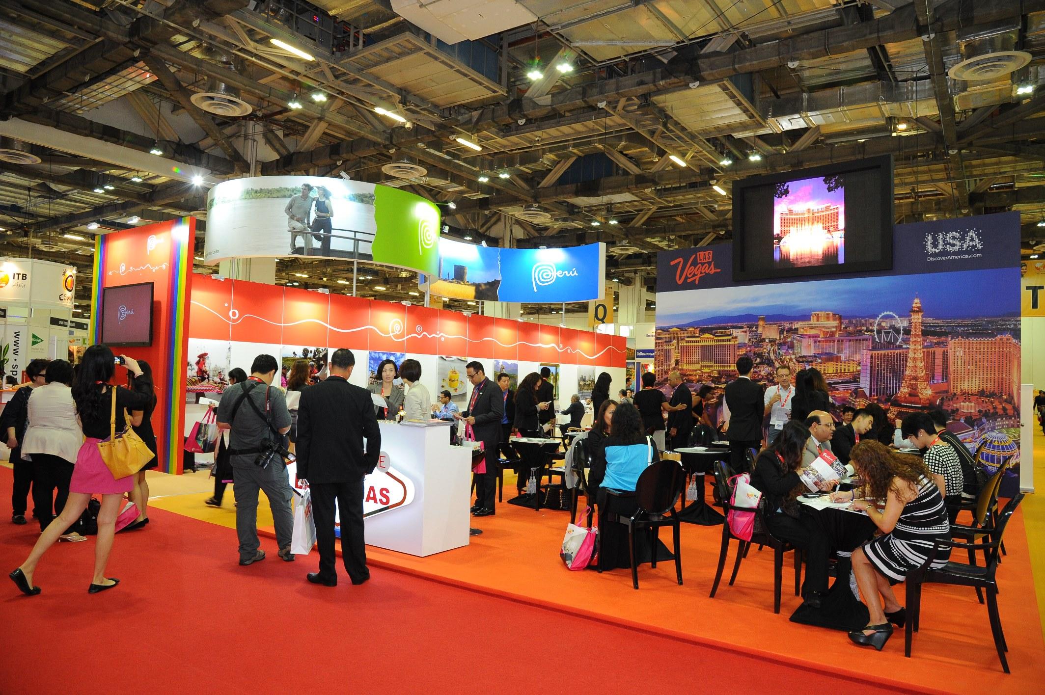 Itb Asia Exhibition Area