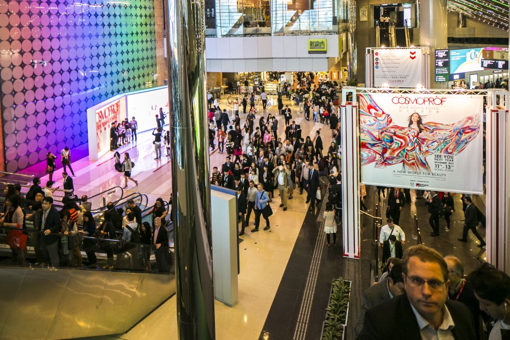 Cosmoprof Asia Exhibition Area