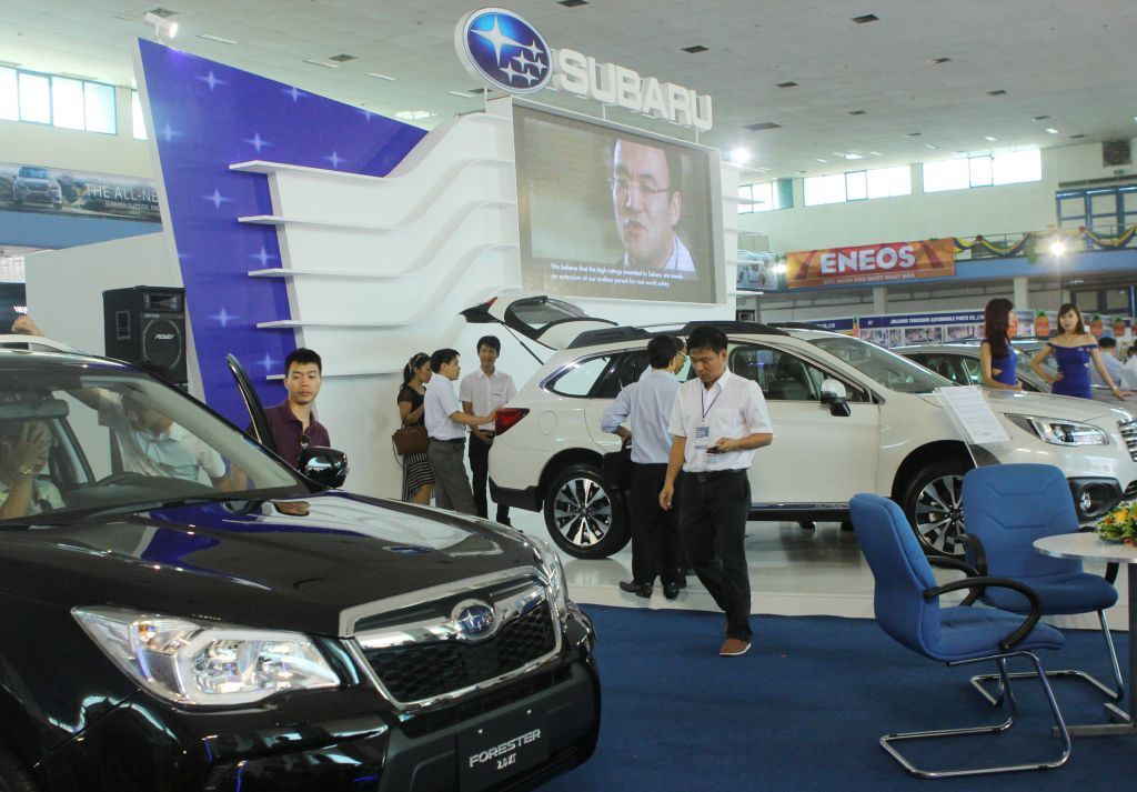 Vietnam Autoexpo Stands