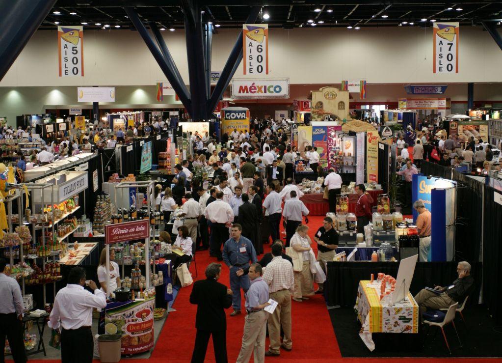 Expo Comida Latina Stands