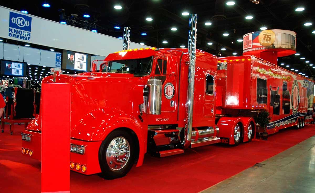 Louisville Truck Show 2020.Mid America Trucking Show Mats 2020