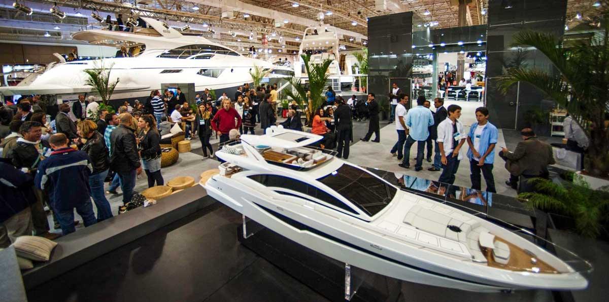 Rio Boat Show Exhibition Area