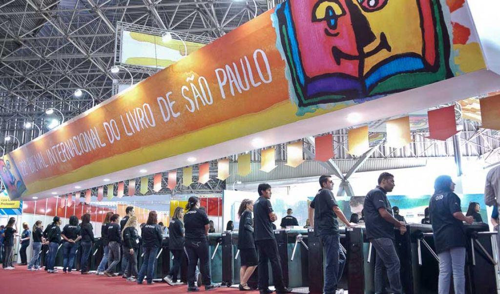 Sao Paulo Bienal Livro Exhibition Hall