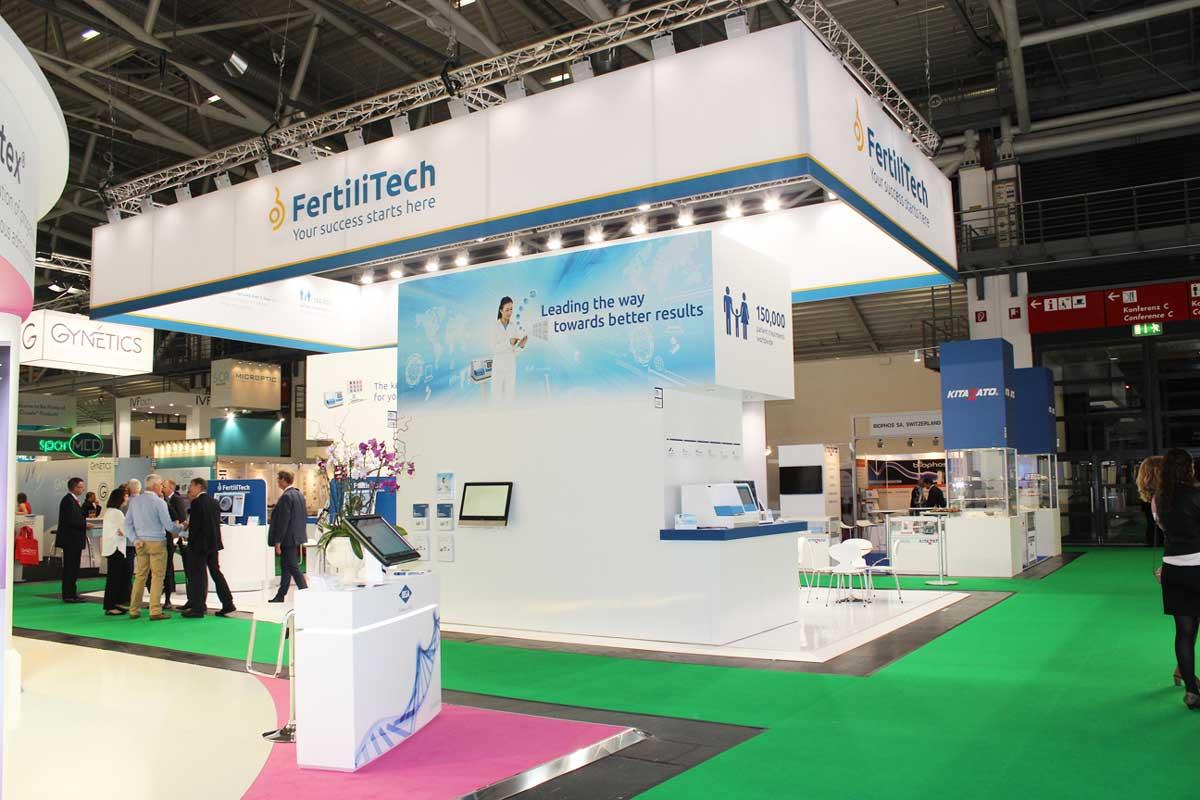 Eshre Exhibition Booth