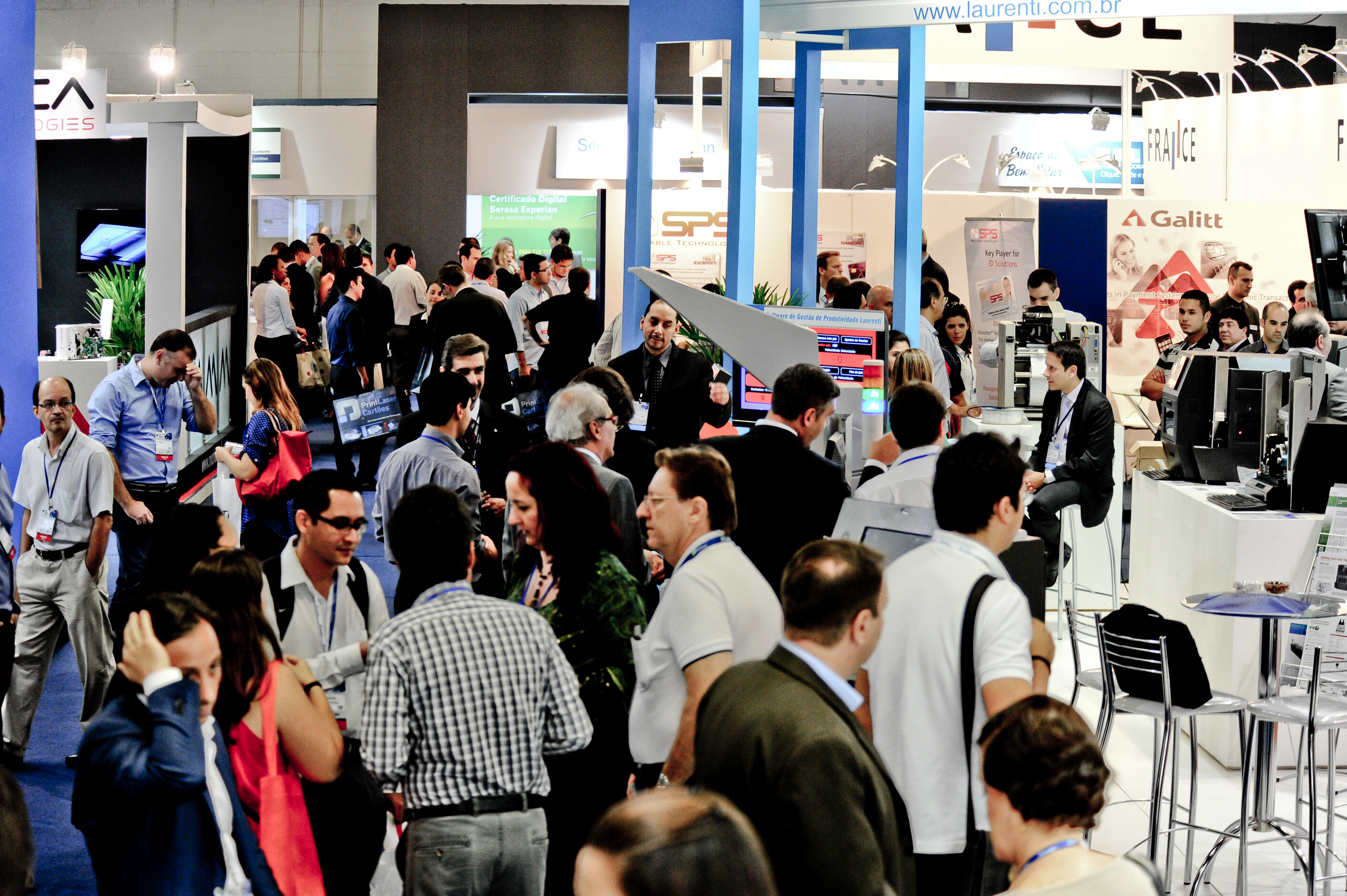 Exhibition Stands In Cards Payment Identification